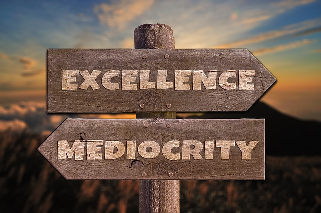 Excellence or mediocrity