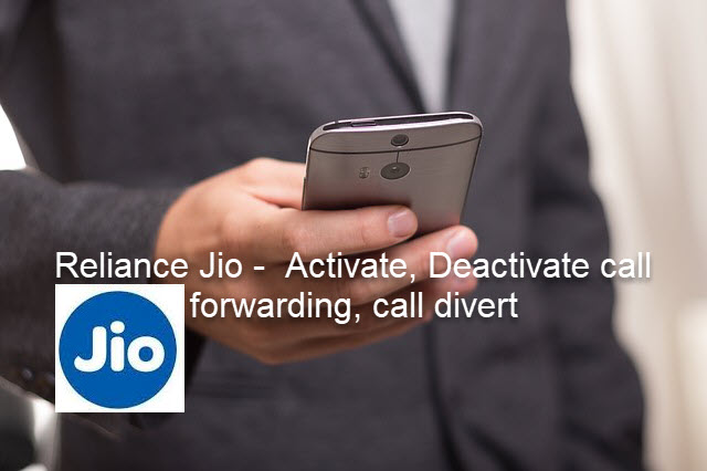 call forward in reliance jio